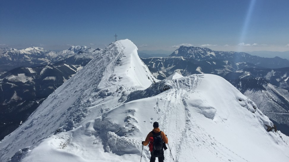 Gipfelgrat Zeiritzkampel